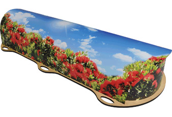 Dying Art - Pohutukawa Archetype Picture Coffins